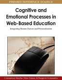 Cognitive and Emotional Processes in Web based Education Book