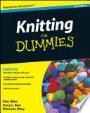 Knitting For Dummies  Enhanced Edition Book