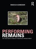 Performing Remains Pdf/ePub eBook