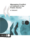 Managing Conflict of Interest in the Public Sector A Toolkit [Pdf/ePub] eBook