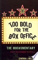 Too Bold for the Box Office Book