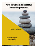how to write a successful research proposal