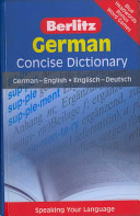 Berlitz German Concise Dictionary