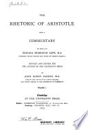 The Rhetoric of Aristotle, Rhetoric