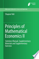 Principles of Mathematical Economics II.pdf