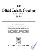The Official Catholic Directory for the Year of Our Lord ...