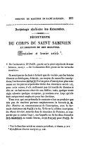 Archéologie chrétienne des catacombes. Découverte du corps de Saint Sabinien et preuves de son martyre ebook