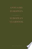 Annuaire Europeen 1998 / European Yearbook 1998