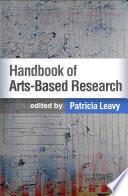 Handbook Of Arts Based Research