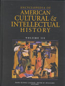 Encyclopedia of American Cultural   Intellectual History
