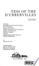TESS OF THE D'URBERVILLES NOTES