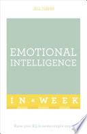 Emotional Intelligence In A Week Book