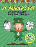 St  Patrick s Day Coloring   Activity Book For Toddlers