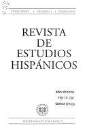 Revista de estudios hisp  nicos