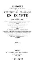 Histoire de l'expédition française en Égypte. Tome III