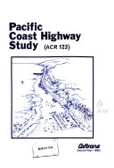 Pacific Coast Highway Study