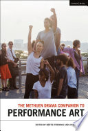 The Methuen Drama Companion To Performance Art