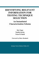 Identifying Relevant Information for Testing Technique Selection