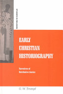 Early Christian Historiography