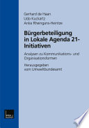 Bürgerbeteiligung in Lokale Agenda 21-Initiativen