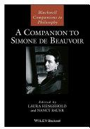 Pdf A Companion to Simone de Beauvoir