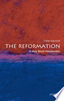 The Reformation A Very Short Introduction
