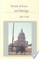 Poems Of Love And Marriage Book
