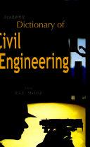 Academic Dictionary of Civil Engineering