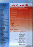 The     Latin Corporate Finance Handbook   Directory Book
