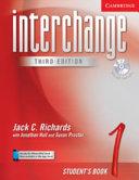 Interchange Level 1 Student s Book 1 with Audio CD