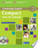 Compact First For Schools Student S Book Without Answers With Cd Rom