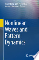 Nonlinear Waves and Pattern Dynamics Book