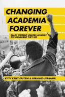 Changing Academia Forever Pdf/ePub eBook