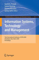 Information Systems  Technology and Management
