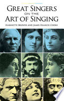 Great Singers On The Art Of Singing Book