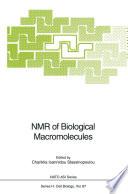NMR of Biological Macromolecules