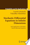 Stochastic Differential Equations In Infinite Dimensions Book PDF