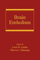 Brain Embolism