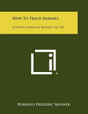 How to Teach Animals