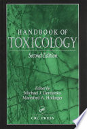 Handbook of Toxicology  Second Edition Book
