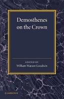 Pdf Demosthenes on the Crown