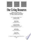 Our Living Resources