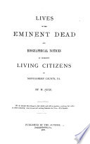 Lives of the Eminent Dead