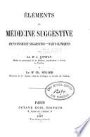 Elements de medecine suggestive