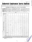 Industrial Employment Information Bulletin