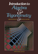 Introduction to Algebra and Trigonometry [Pdf/ePub] eBook