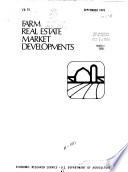 Farm Real Estate Market Developments