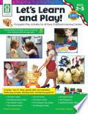 Let S Learn And Play Ages 2 5