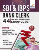 SBI & IBPS Bank Clerk 44 Year-wise Solved Papers (2009-20) 4th Edition Pdf/ePub eBook