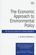 The Economic Approach to Environmental Policy: The Selected ...